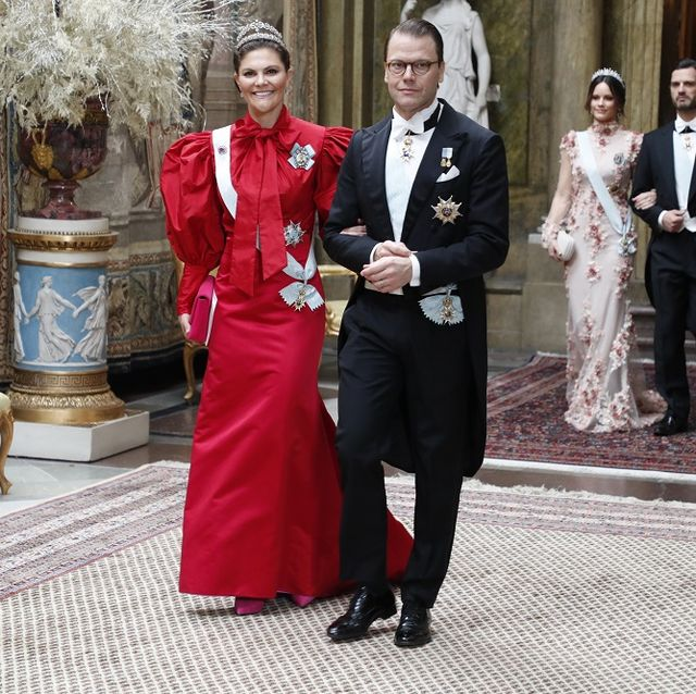 Photograph, Red, Suit, Dress, Fashion, Formal wear, Event, Ceremony, Wedding, Tradition,
