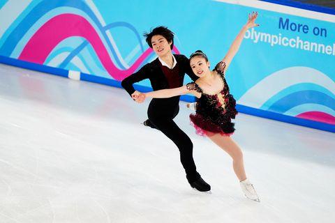 2020年 冬季ユース五輪 フィギュアスケート アイスダンス FD