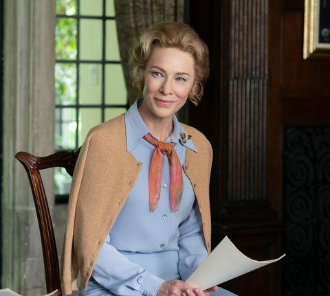 mrs america, cate blanchett as phyllis schlafly, gloria, season 1, ep 102, aired april 15, 2020 photo sabrina lantos  ©fx  courtesy everett collection