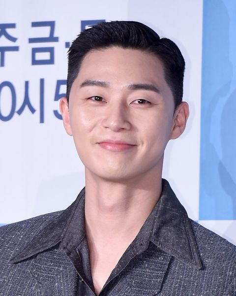 "park seo joon attends the press conference of ""itaewon class"" on january 30, 2020 in seoul, south korea"