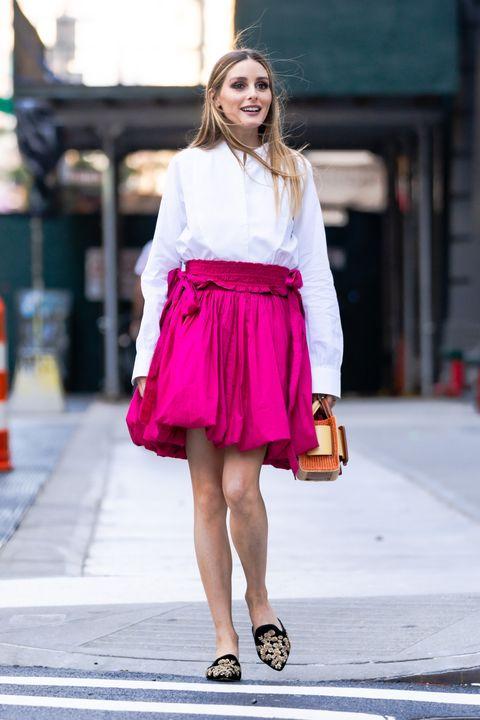 オリヴィア・パレルモになりきり! キュートなバルーンスカートが着こなしの主役♡