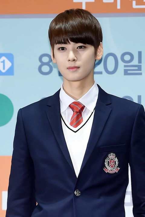 astro attend the production presentation of mbc every1 web drama 'to be continued' at yeongdeungpo ifc mall on august 18th in seoul, south korea photoosen