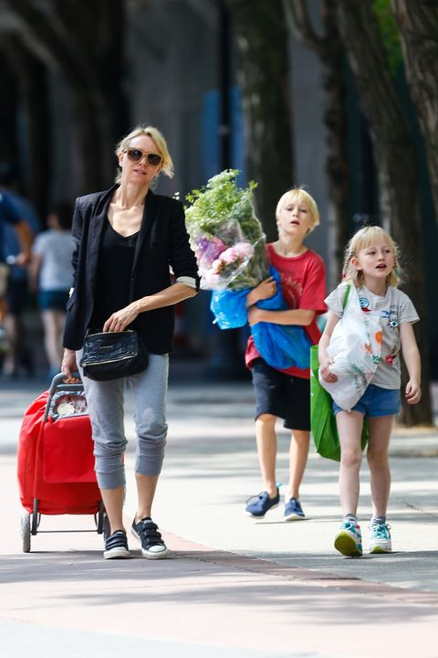 Naomi Watts starts her day with a Grocery Run in Tribeca