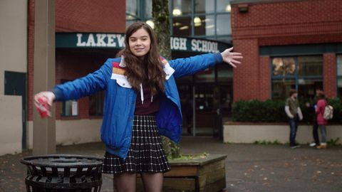 THE EDGE OF SEVENTEEN, Hailee Steinfeld, 2016. /© STX Entertainment /Courtesy Everett Collection