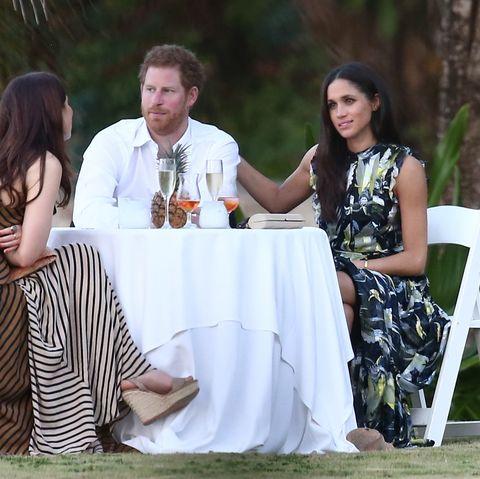 2017年のハリー王子とメーガン妃