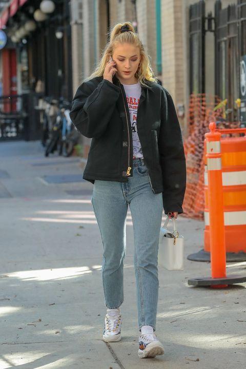 Jeans, Clothing, Street fashion, Photograph, Denim, Fashion, Jacket, Snapshot, Outerwear, Orange,