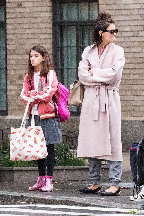 Pink, Photograph, Street fashion, Clothing, Fashion, Snapshot, Footwear, Outerwear, Human, Street,
