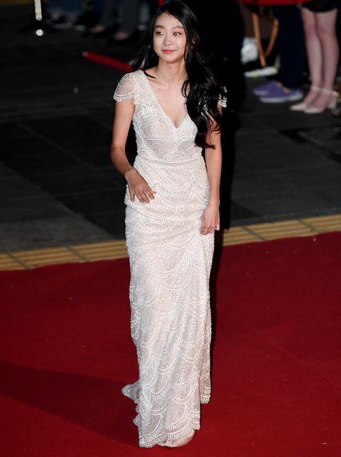kim da mi is attending 'the 55th daejong film awards 2018' at the grand theater of sejong center for the performing art on oct 22th in jongno gu, seoul, south korea photoosen