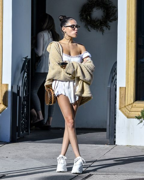 Fashion model, Clothing, Photograph, Fashion, Shoulder, Street fashion, Dress, Footwear, Beauty, Leg,