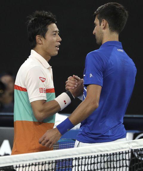 Kei Nishikori,Novak Djokovic