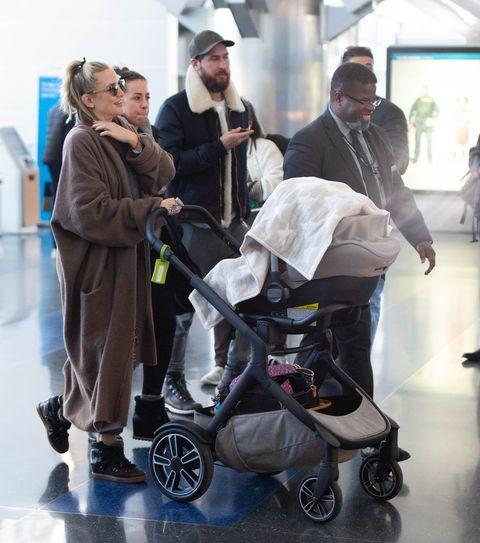 EXCLUSIVE: Kate Hudson and Danny Fujikawa arrive at JFK airport in New York City.