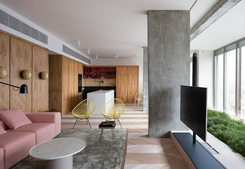 Interior design, Room, Living room, Furniture, Building, Property, House, Wall, Ceiling, Architecture,