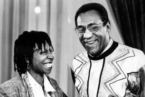 'Whoopi Goldberg And Bill Cosby'
