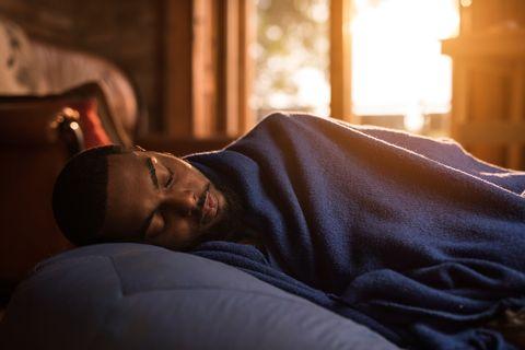 Light, Nap, Sleep, Sunlight, Furniture, Bed, Human, Room, Comfort, Couch,