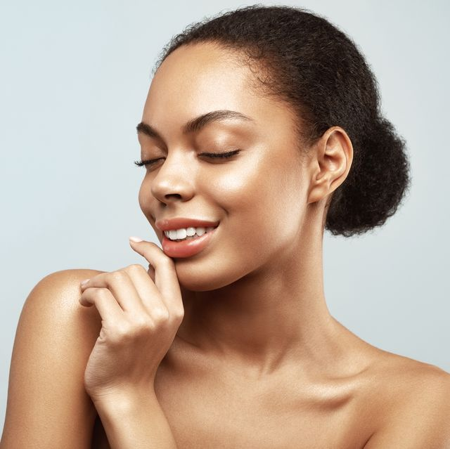 african american skincare models beauty spa treatment concept