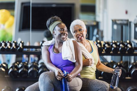 nooit te oud omt te trainen fitgranny