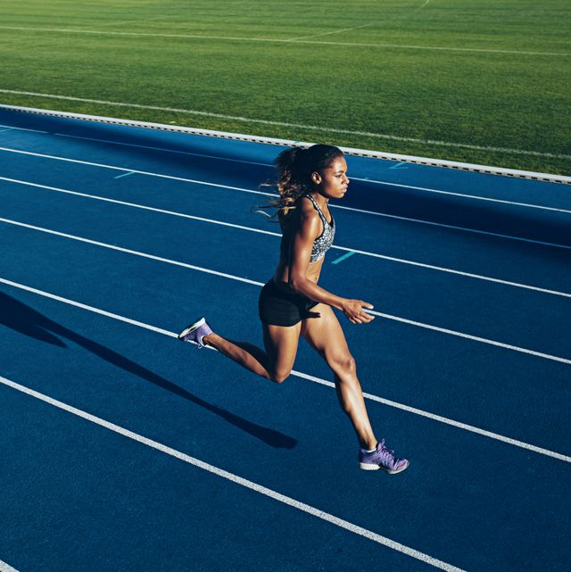 strides running form