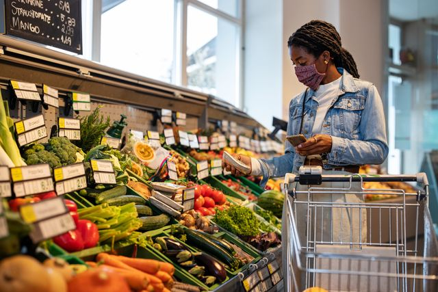 foods for runners   grocery store