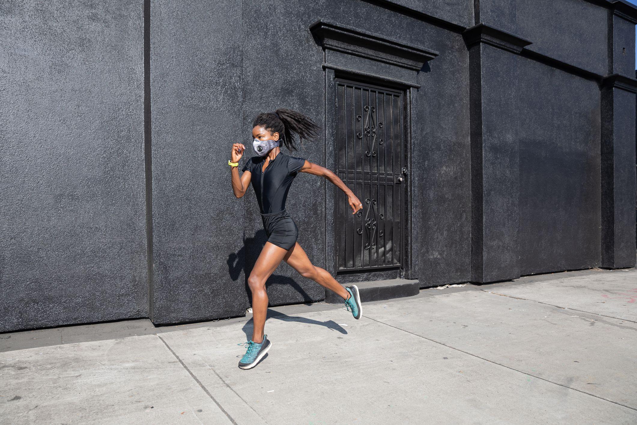 マスク コロナ ジョギング