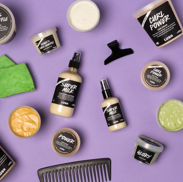 lush afro hair care line