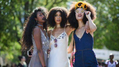 Beauty, Fashion, Yellow, Youth, Fun, Summer, Dress, Event, Photography, Long hair,