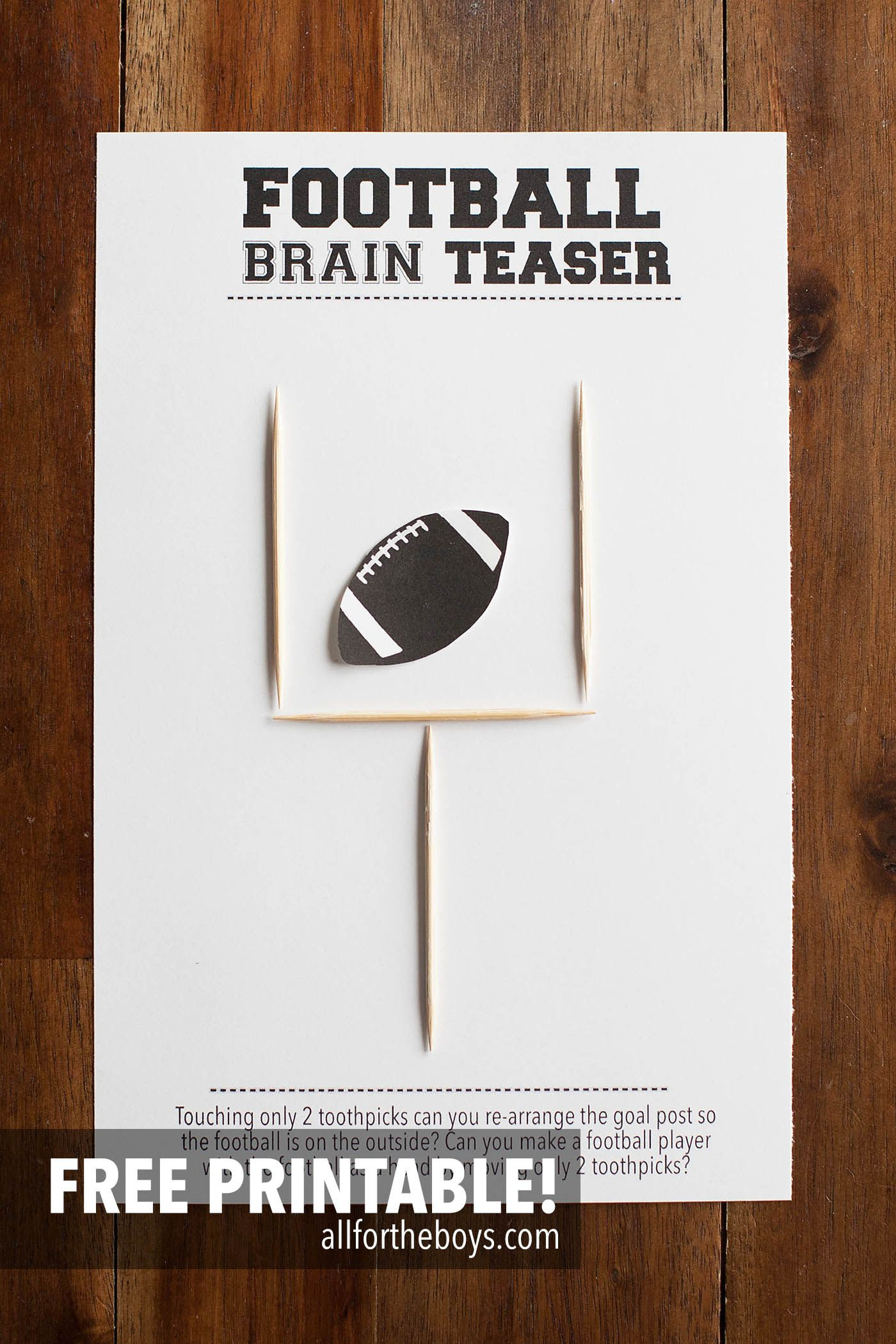 It's just a picture of Super Bowl Party Games Printable with regard to grader