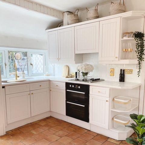 budget diy kitchen transformation for £100