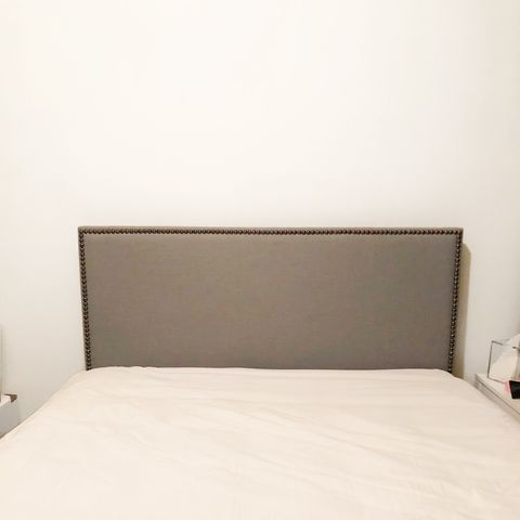 Here's How To Make A Full Size Headboard Fit A Queen Bed