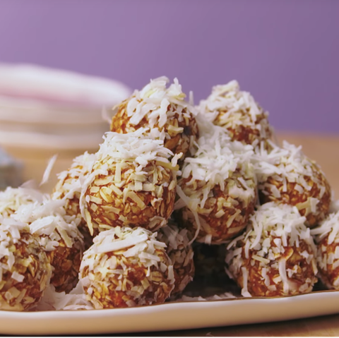 after school snacks - carrot cake energy bites