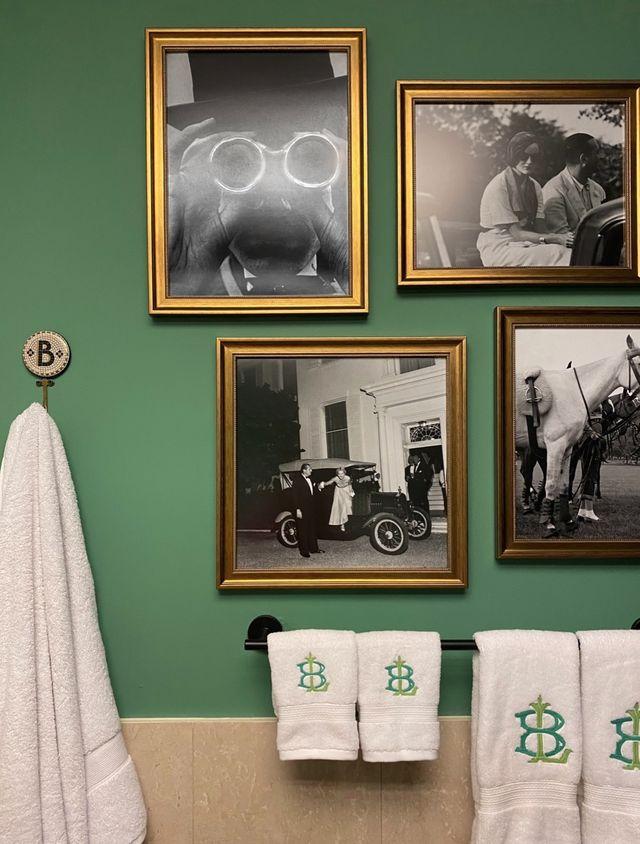 elle decor editor bathroom makeover