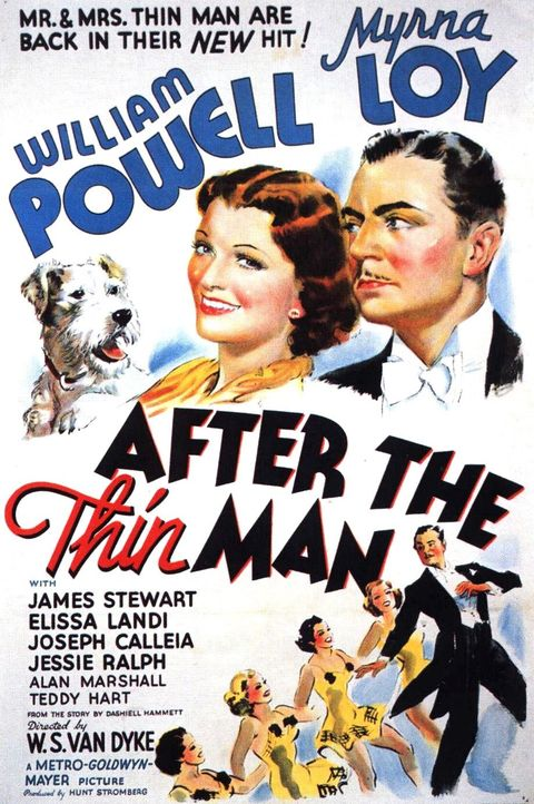 Movies to Watch on New Year's Eve - After the Thin Man