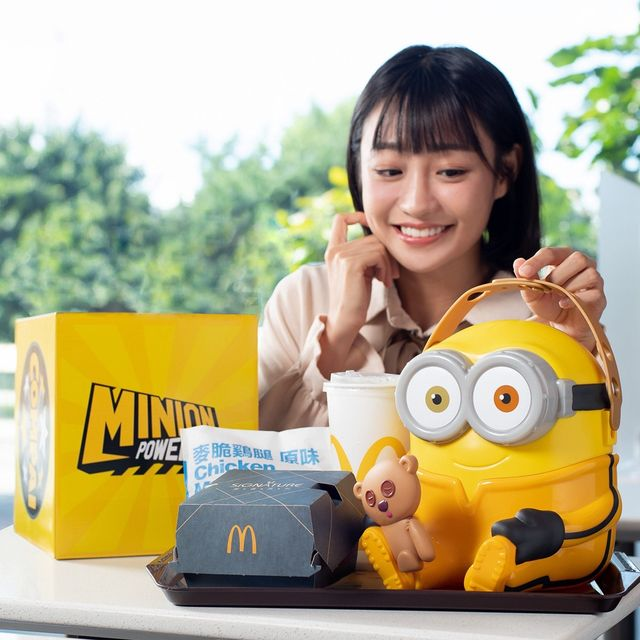 台灣麥當勞首發「小小兵bob抱抱置物籃」929搶先全球開賣