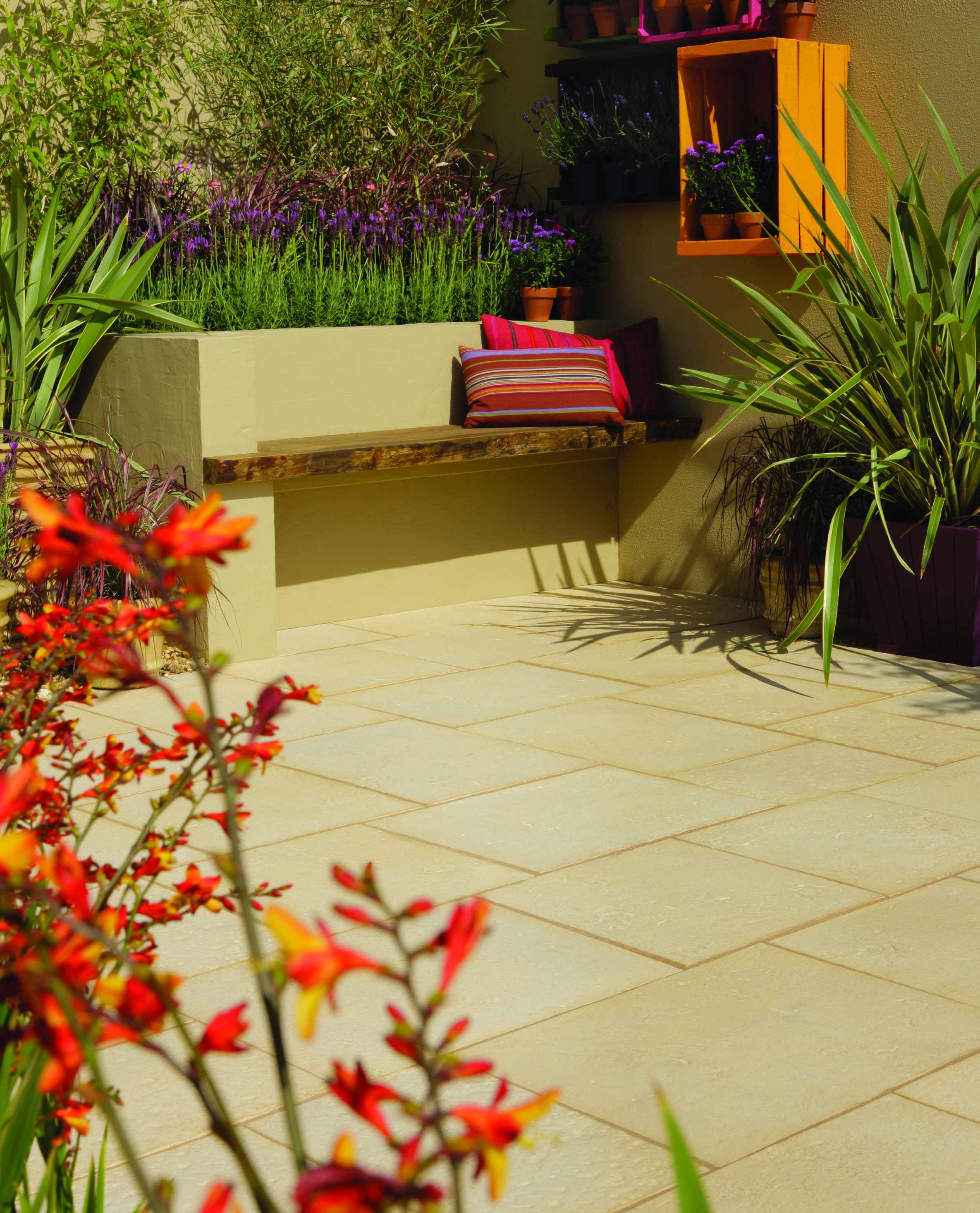 Beau Aged Riven Paving From Bradstone