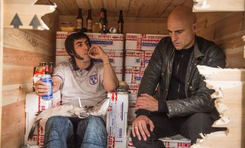 Agente contrainteligente (2016) Mark Strong y Sacha Baron Cohen