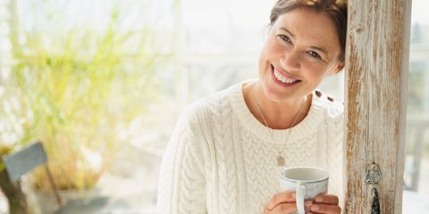 Facial expression, Skin, Smile, Drinking, Happy, Drink, Sitting, Drinkware, Cup,