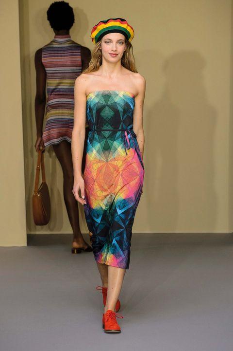 Pasarela: modelo de Agnès B