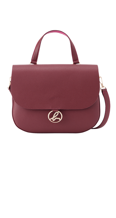 Handbag, Bag, Pink, Magenta, Fashion accessory, Maroon, Violet, Shoulder bag, Luggage and bags, Material property,