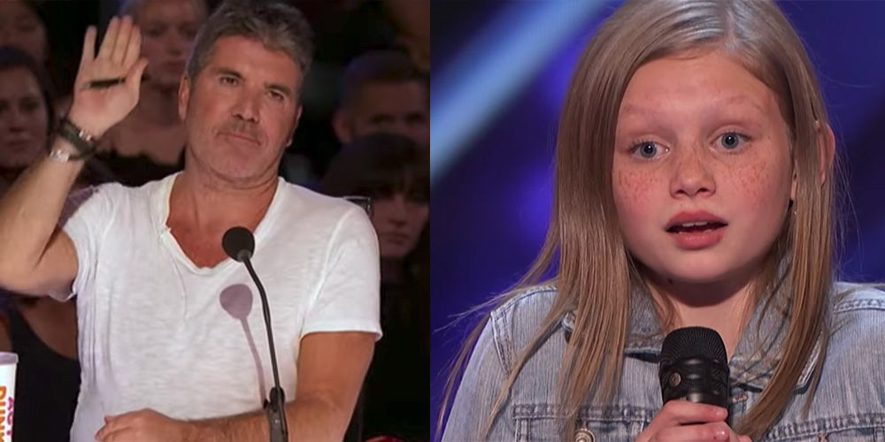 AGT' Judge Simon Cowell Stopped 2019 Contestant Ansley Burns