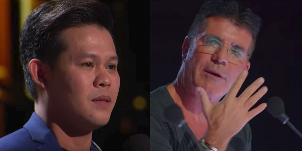 Agt The Champions Judge Simon Cowell S Reaction Marcelito Pomoy Causes Outrage