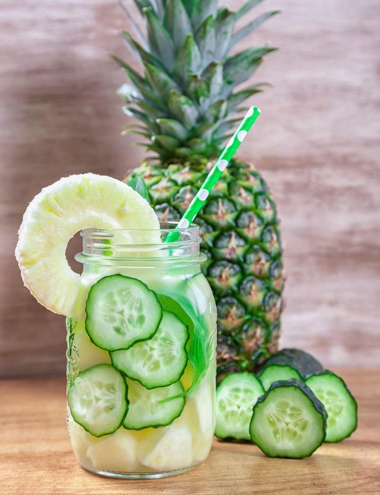 Diez aguas con sabor, la alternativa a los refrescos