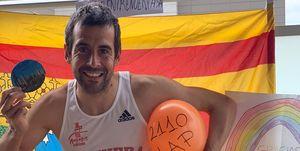 Agustín Moreno Media Maratón Zaragoza