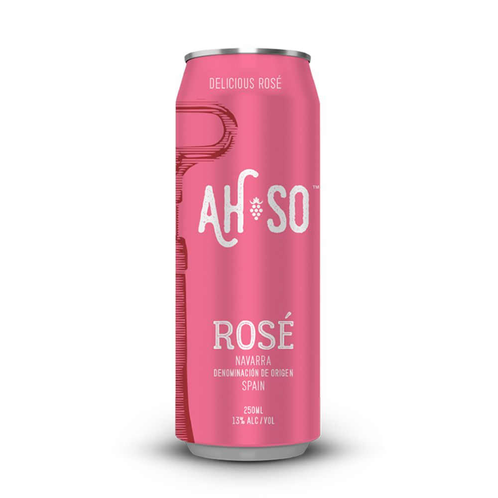 Ah-So Handcrafted Canned Rose Wine