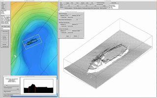 sonar sunken ship 2018