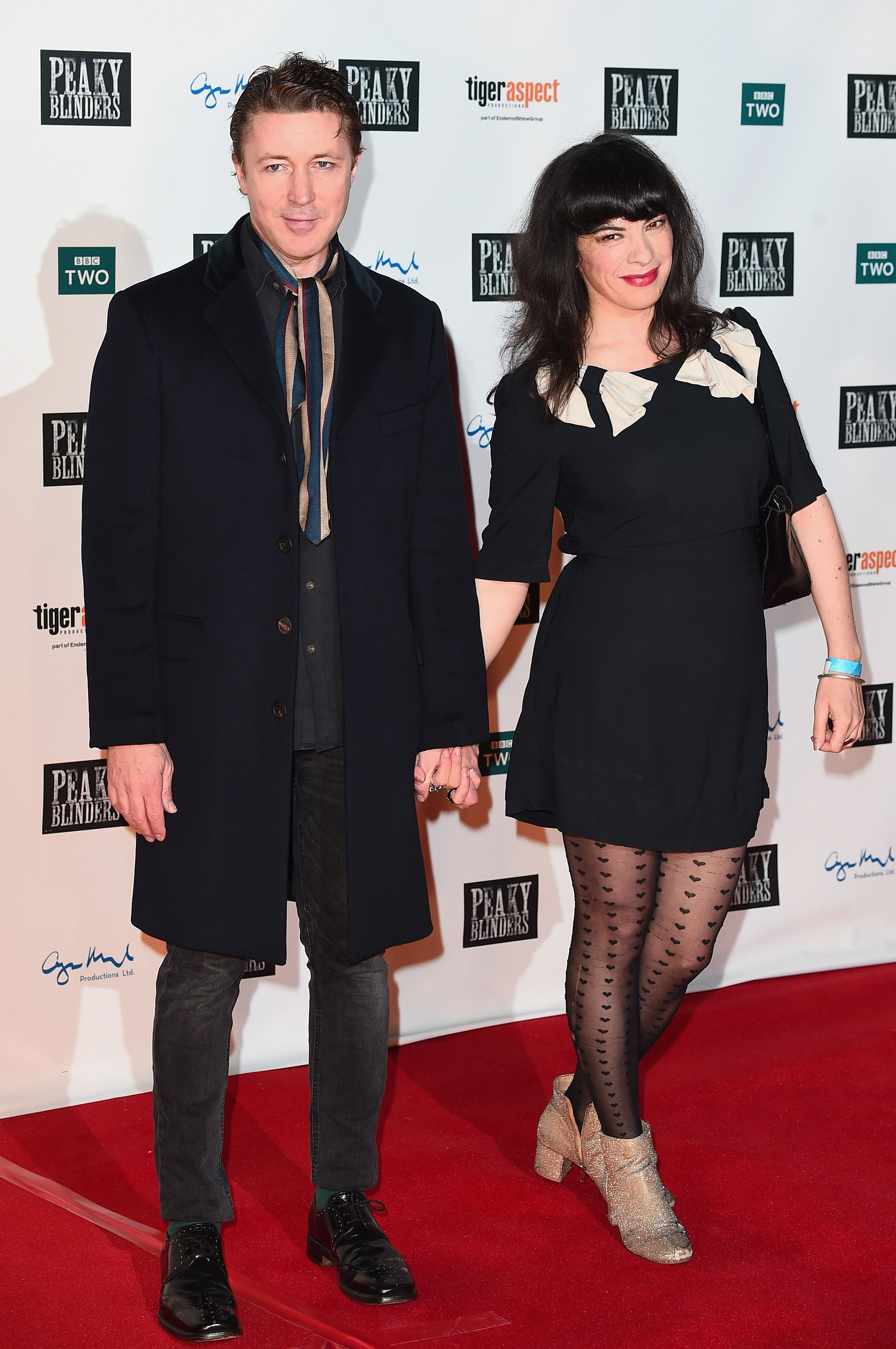 Aidan Gillen (Petyr Baelish) and Camille O'Sullivan The couple were first spotted together in 2015.
