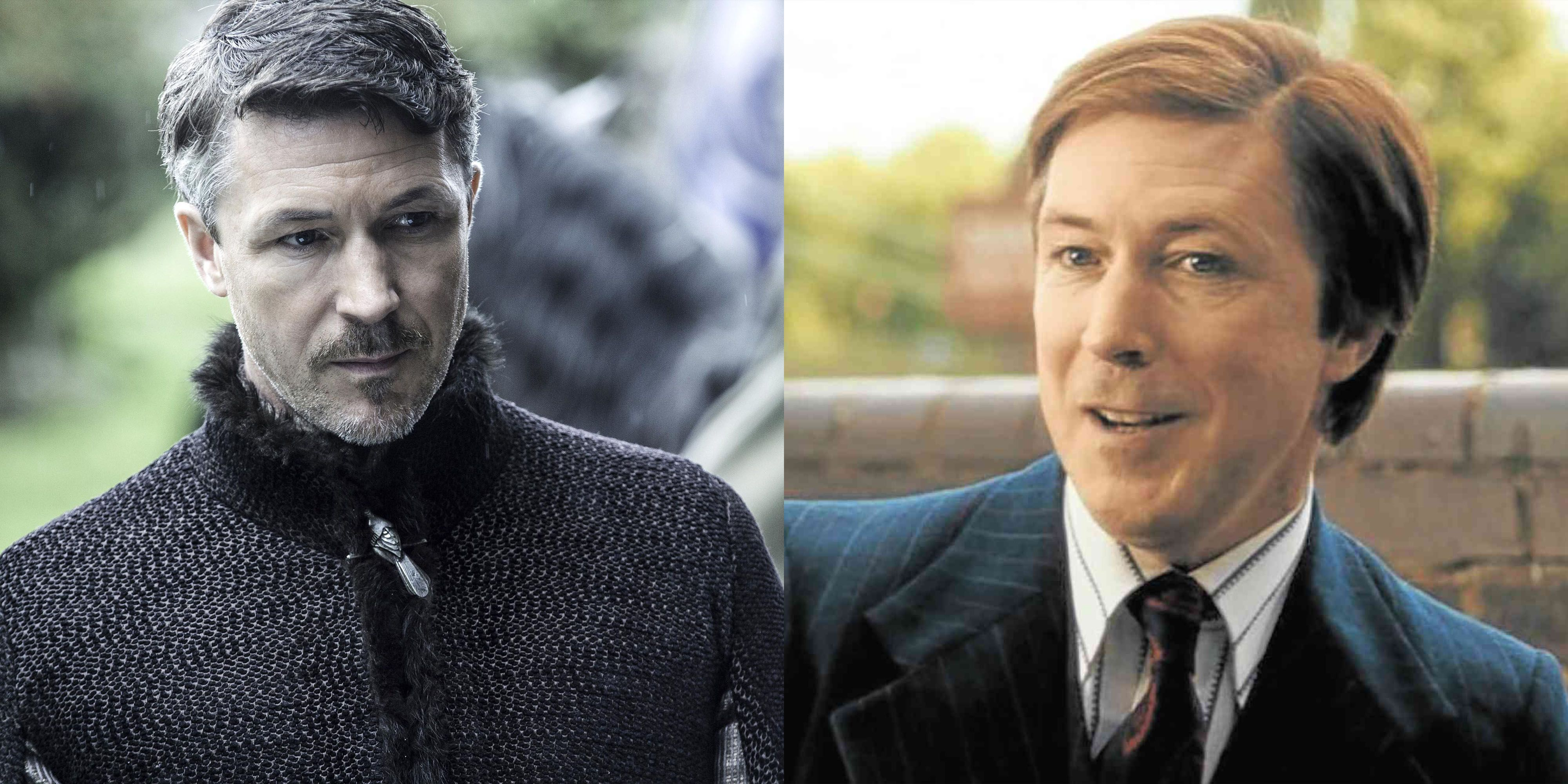 Aiden Gillen Not long after Littlefinger got what was coming to him at the hands of the Stark sisters, Gillen appeared (almost unrecognizably) as John Reid in Bohemian Rhapsody .