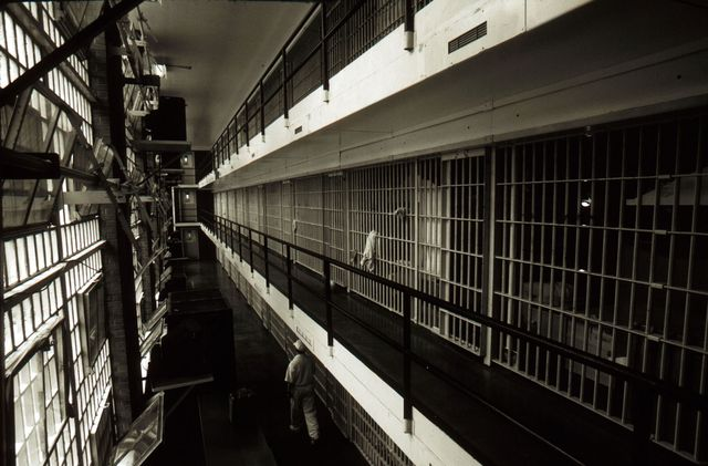 383356 24 prison cells line a hall at the ellis death row unit april 16, 1997 in huntsville prison in huntsville, texas the state has about 450 prisoners on death row texas executes more prisoners than any other state in the us photo by per anders petterssongetty images