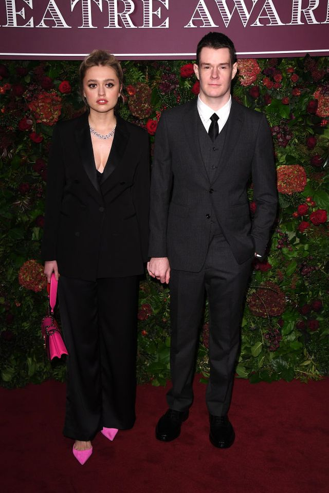 65th evening standard theatre awards  red carpet arrivals
