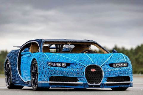 Lego Built a Working Bugatti Chiron Out of Lego Technic