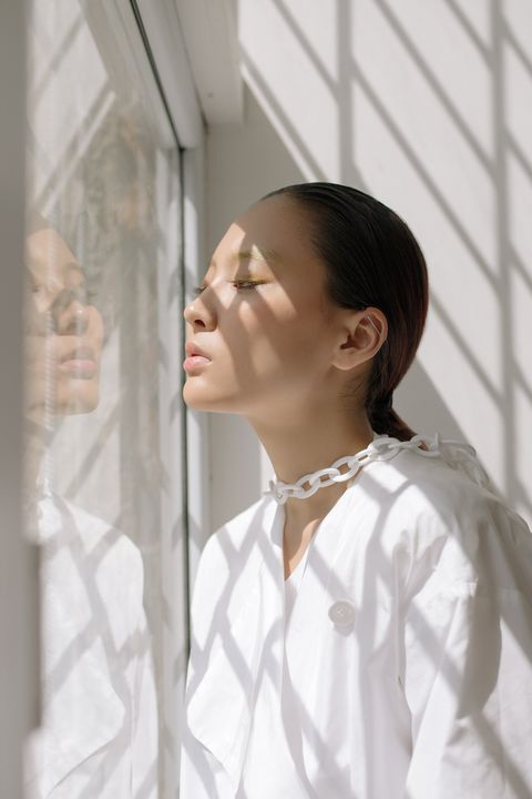 White, Neck, Photography, Window,