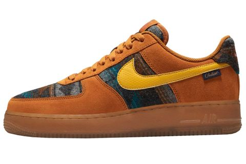 Footwear, Shoe, Orange, Brown, Tan, Sneakers, Outdoor shoe, Product, Yellow, Skate shoe,